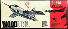 STROMBECK WOODLINE Kit No. G-42, B-558 DOUGLAS SKYROCKET, 1/59, MIB, 1967