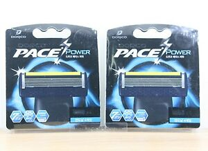 Dorco-Pace-7-Power-Vibration-Razor-Blades-8-Refill-Cartridges-Made-In-Korea