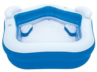 Bestway Kinder Schwimmbad Family Pool Fun 213x207x69 cm Planschbecken NEU 54153