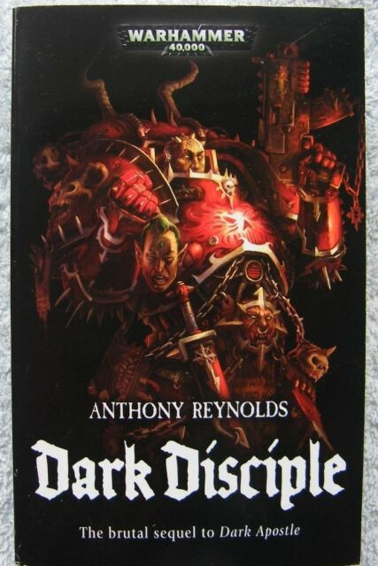 Dark Disciple by Anthony Reynolds (Paperback, 2008)