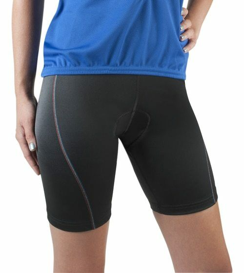 Aero Tech Designs Spandex Padded All American Bike Biking Short Made in USA