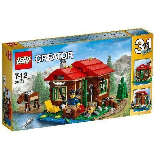 Lego 31048 - Creator - Cabaña junto al Lago - NUEVO