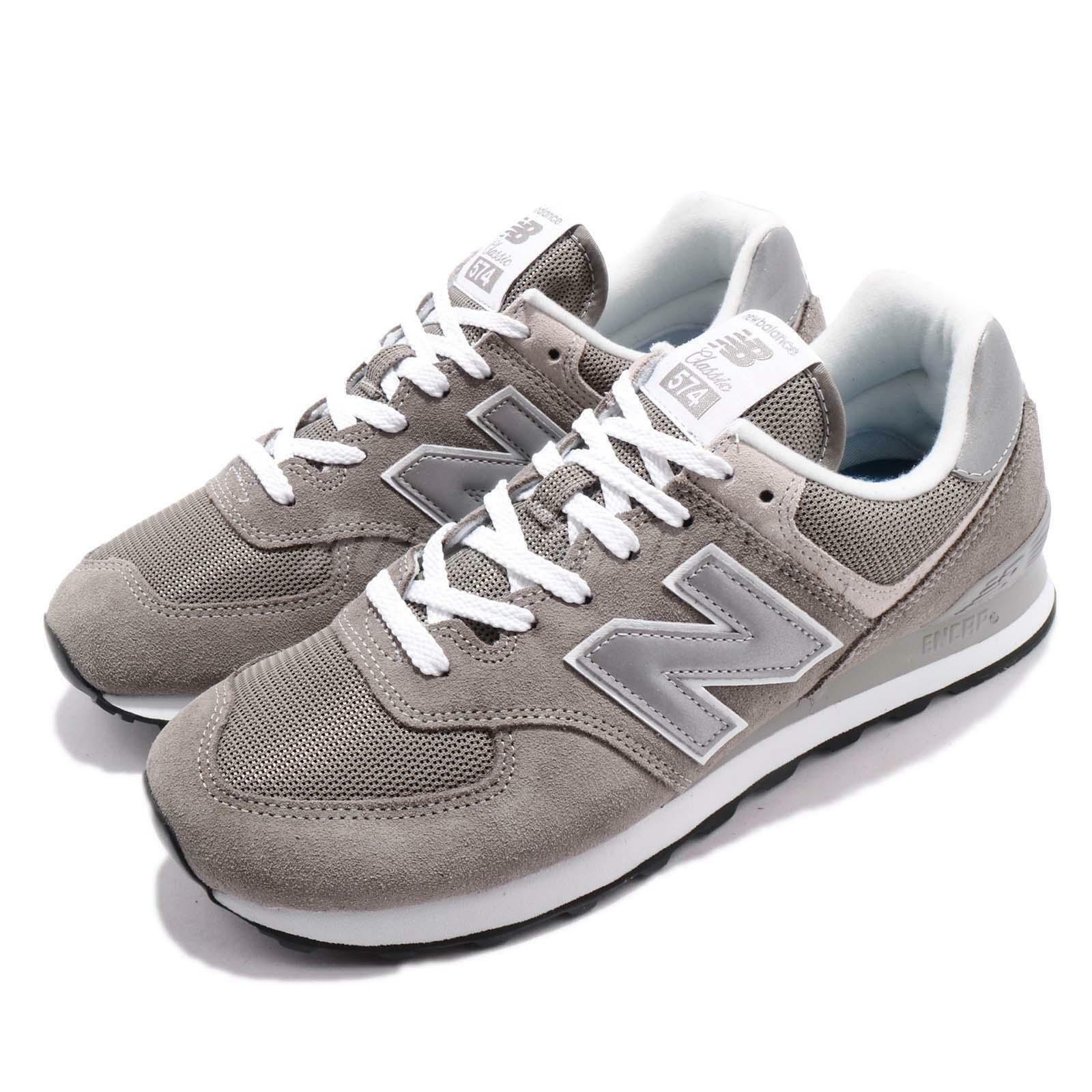 New  Balance WL574EG B 574 Grey White Women Running shoes Sneakers WL574EGB  factory outlet