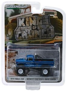 1-64-GreenLight-KINGS-OF-CRUNCH-3-1974-Ford-F-250-MIDWEST-4WD-Monster-Truck
