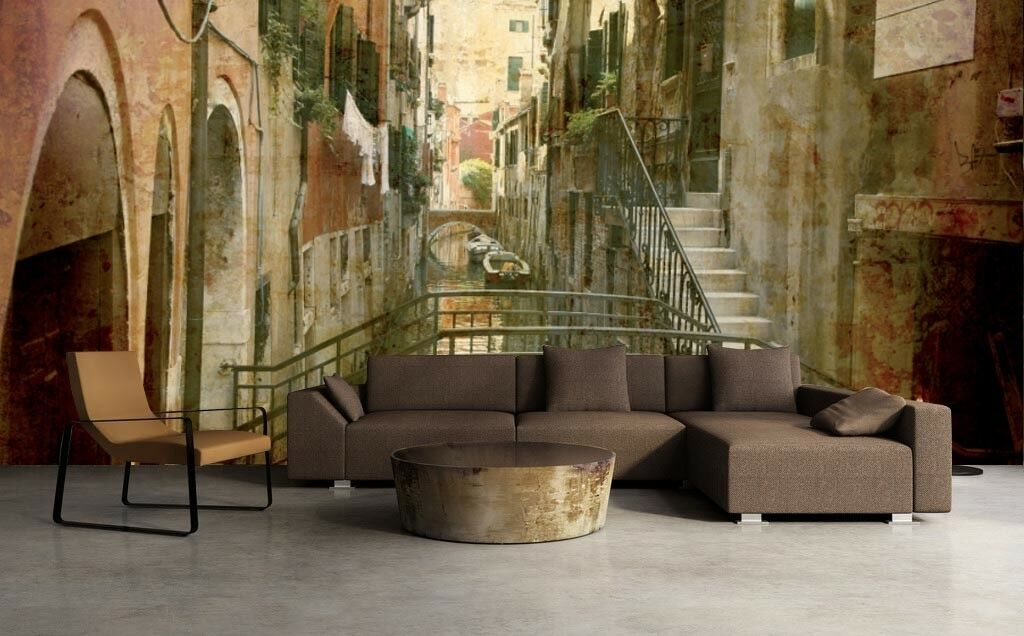 3D Paintings Alley 556 Wall Paper Wall Print Decal Deco Indoor Wall Mural CA