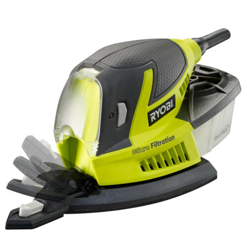 RYOBI 100W Palm Sander with Dust Collection Bag