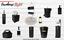 miniatuur 7 - Autumn Alley Farmhouse Black Soap Dispenser - Farmhouse Bathroom Decor