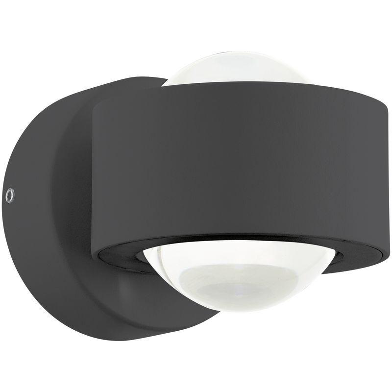 APPLIQUE MODERNO A LED LED LED 5W NERO GLO 96049 ONO 2 0abff6