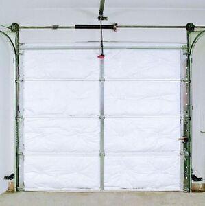 Single Car Metal Garage Door R8 Insulation Kit 8 Vinyl