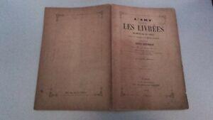 ARTE DE Esfera Las Libreas XIX M. De st-Epain 40 Dibujos París 1853 ABE