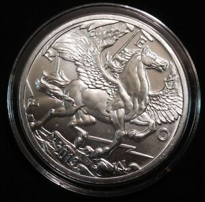 2013 Freedom Pegasus 1oz Fine Silver Bullion Round!!