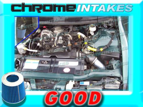 BLACK BLUE 95 96 97 CHEVY CAMARO//PONTIAC FIREBIRD 3.8 3.8L V6 COLD AIR INTAKE 1p
