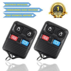 2 New Remote Keyless Entry Key Fob for Ford Escape Mustang Explorer CWTWB1U345