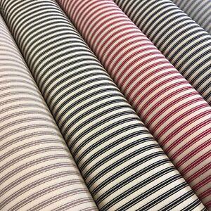 100-Cotton-canvas-classic-Striped-Ticking-fabric-45-034-M757