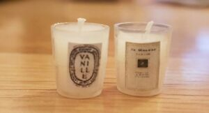 Miniature scented CANDLE for dolls house 1:12th scale  modern shop designer  UK