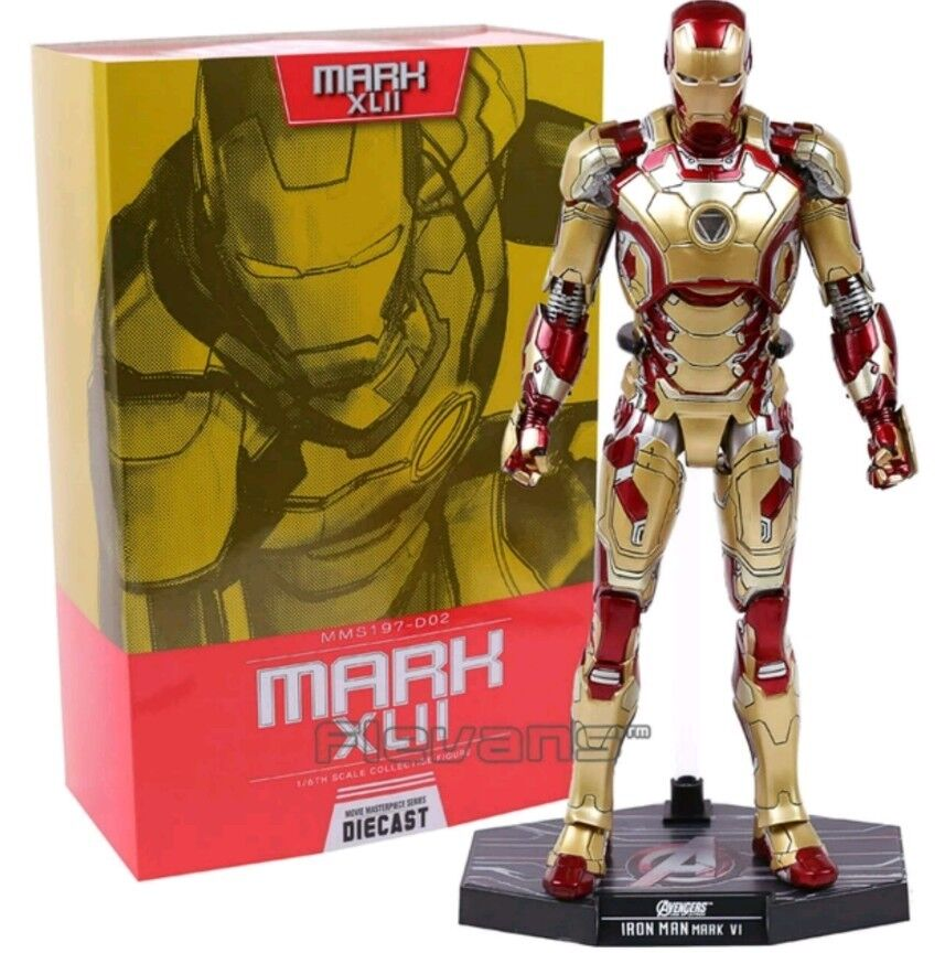 THE AVENGERS/ IRON MAN 3 MARK KLII LED 32 CM- 1/6TH SCALE COLLECTIBLE FIGURE