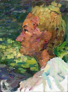 Russischer-Realist-Expressionist-Ol-Leinwand-034-Portraet-034-39x30-cm