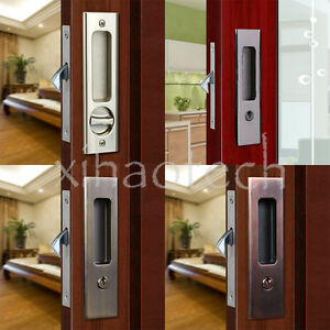 Invisible Durable Door Locks Handle With Keys For Sliding