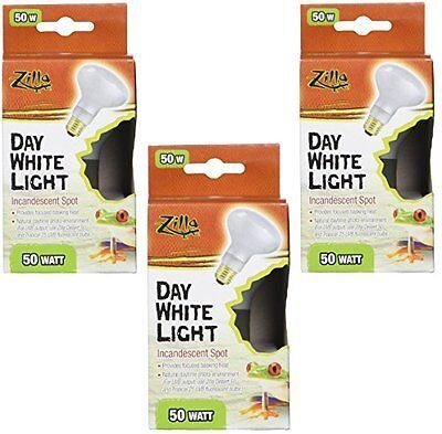 New 3 Pack Zilla Reptile Terrarium Heat Lamps Incandescent