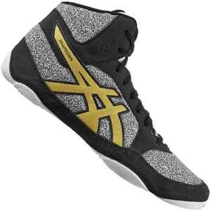 asics wrestling shoes yellow 2019