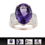 7-50ct-Oval-Amethyst-with-35ctw-White-Topaz-18k-Rose-Gold-over-Silver-Ring-9