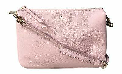 NWT KATE SPADE NEW YORK STACY Bay Street Colorblock Pink Cream Leather 2642 NEW