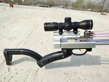 Flymars #A Hunting Slingshot Rifle - Double Safety Device - Deluxe Version CNC