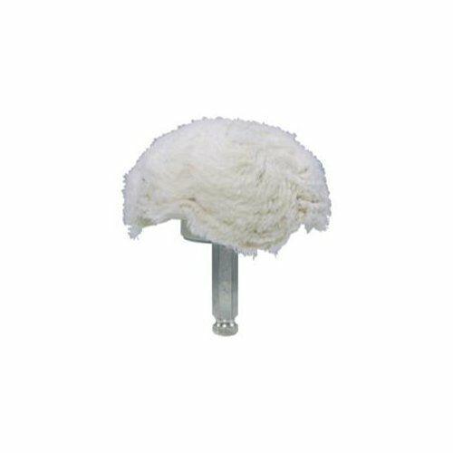 "305904 Astro Pneumatic 3059-04 4/"" 100/% Cotton Mushroom Shaped Buff"