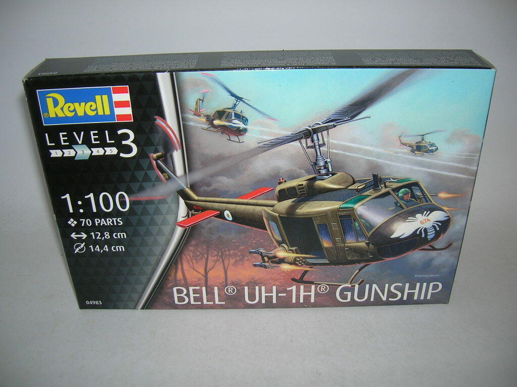 Bell UH-1H combat Revell 1//100