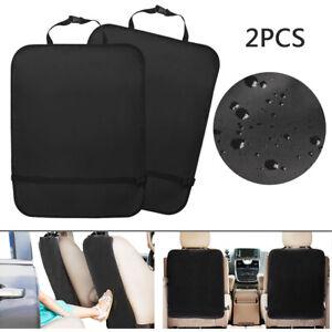 "2PACK Waterproof Kid Kick Mat Car Seat Back Dirt Protector Easy to Clean 18""x23"""