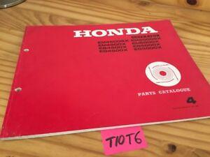 Generateur-Honda-parts-list-EM-EB-EG-4500-5000-X-SX-catalogue-piece-detachee