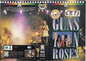 GUNS-N-039-ROSES-1992-vhs-ex-noleggio