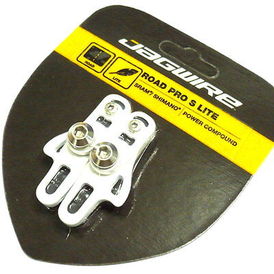 JAGWIRE Road Pro S Lite Brake Shoes Pads for SRAM//SHIMANO White Z51