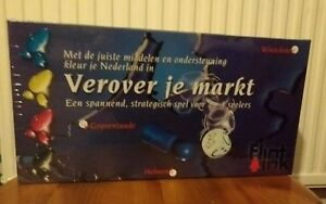 Conquer-Your-Market-Board-Game-New-Sealed-Strategy-Dutch-Verover-je-Markt-Flint