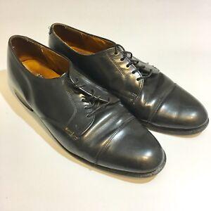 Cole Haan USA Black Leather Cap Toe Dress Oxfords Shoes Men's Size 11 D