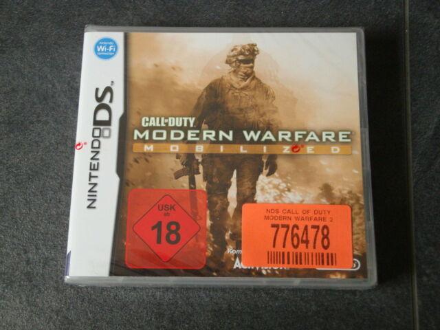 DS Spiel Call of Duty - Modern Warfare Mobilized