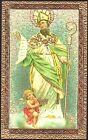 SANTINO HOLY CARD IMAGE PIEUSE - SANT'ADALGISO - VESCOVO DI NOVARA
