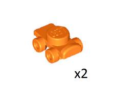 Lego 2x Flat Silver Minifig Footgear Ice Skate Figure Skate NEW