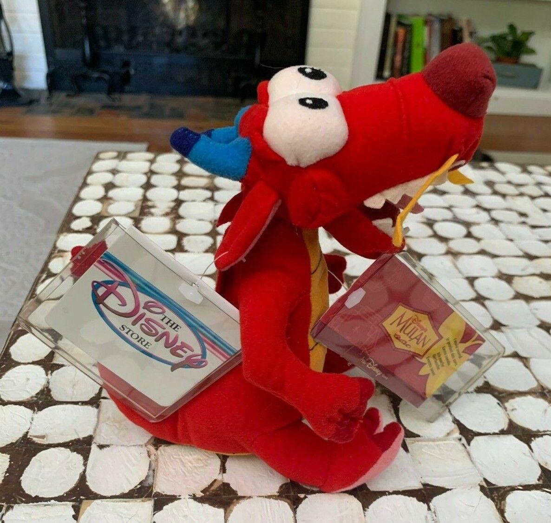 Disney Mulan Talking Mushu Dragon 29 Inch Plush 1998 For Sale Online Ebay