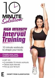 10-Minute-Solution-High-Intensity-Interval-Training-NEW-DVD-HIIT-fat-burn