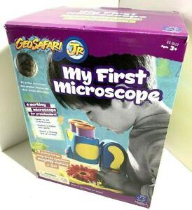 NEW GeoSafari Jr MY FIRST MICROSCOPE Preschool STEM TOY ...