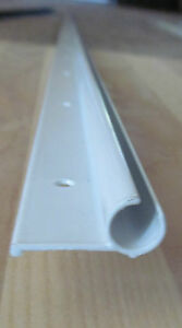 92 Quot Gloss White Aluminum Awning Rail Trim Molding Vintage Trailer 1 1 8 Quot Rv 39 Ebay
