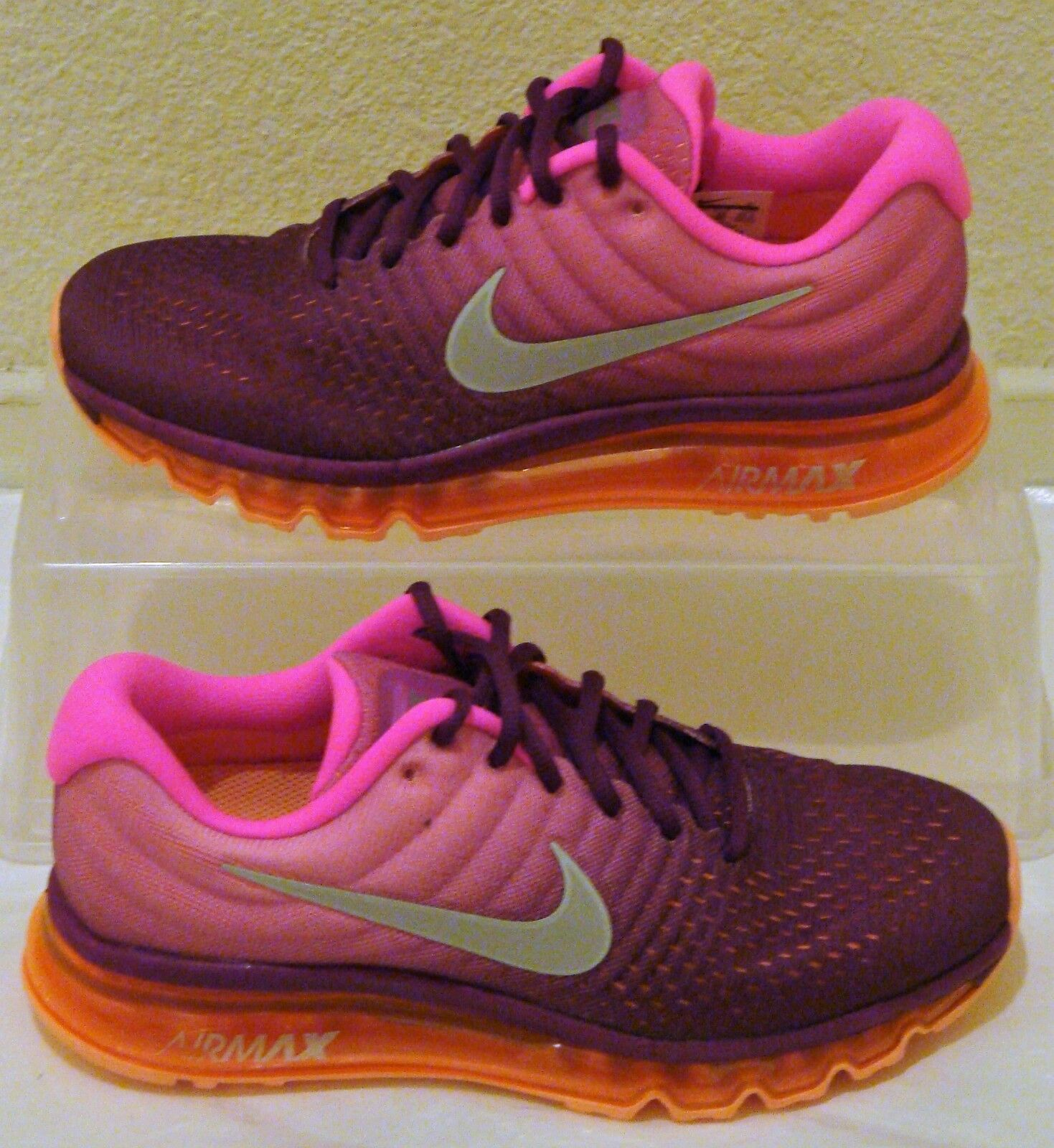 New Nike Air Max 2017 Grape Pink Womens US Size 7.5