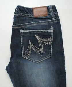 Maurices-Original-Straight-Womens-Jeans-Sz-3-4-Short