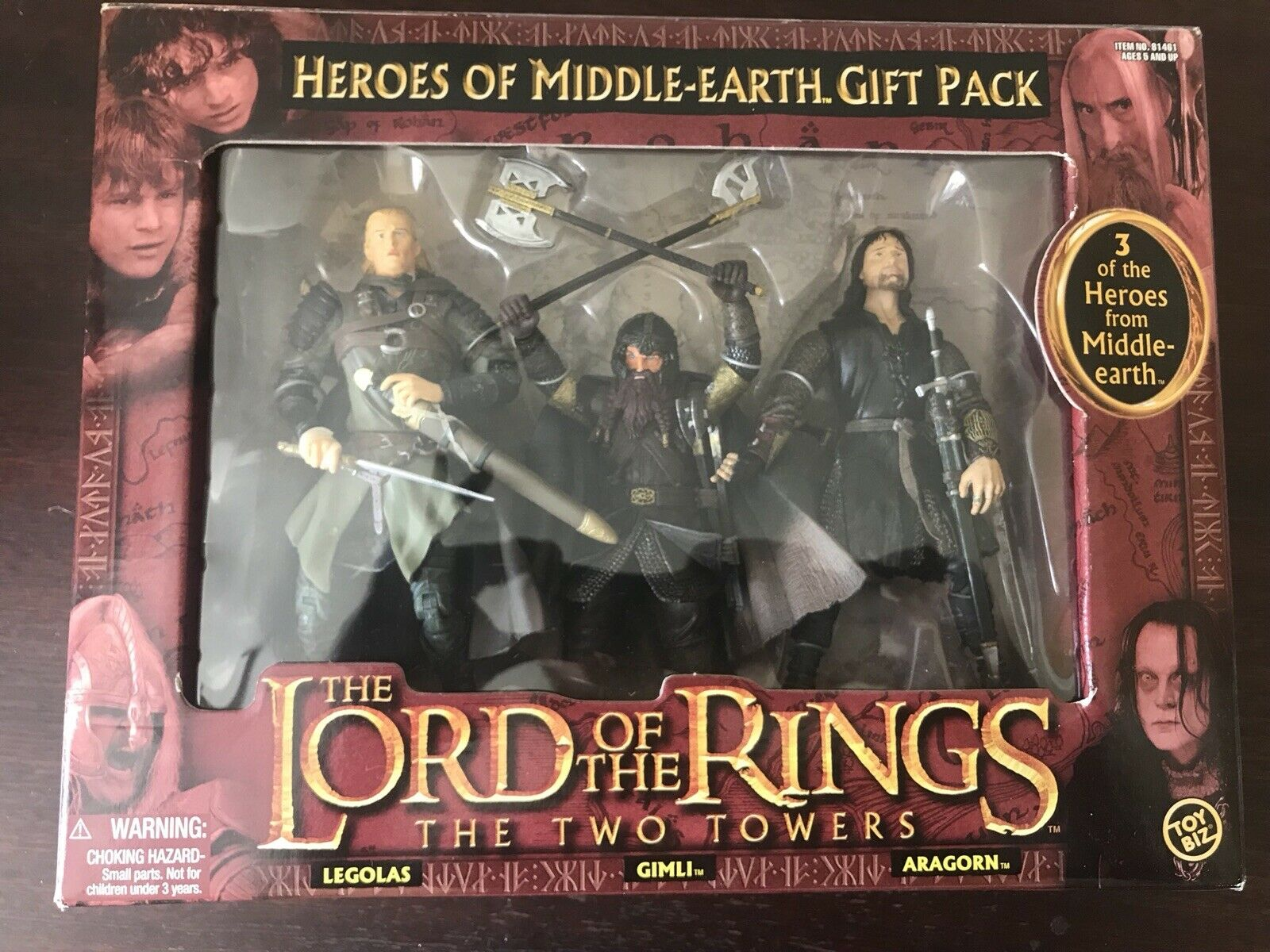 Lord Of Of The Rings - Heroes Of Middle Earth Triple Pack