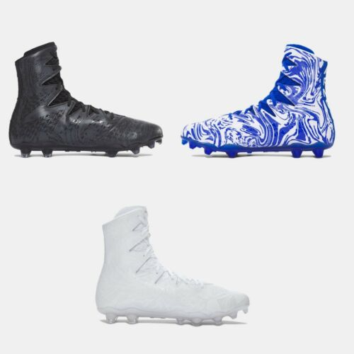 Under Armour HIGHLIGHT LUX MC Molded Football Cleat 1297953 001 100 411 Men Size