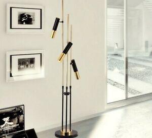 Details About Ike Mid Century Modern Floor Lamp 3 10 Deluxe Designer Tube Lights Fixture Gift