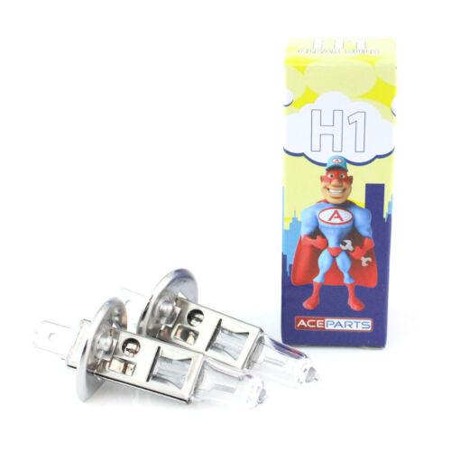 CITROEN C4 55 W Clear Xenon Hid Haute Faisceau Principal Ampoules Phare Paire