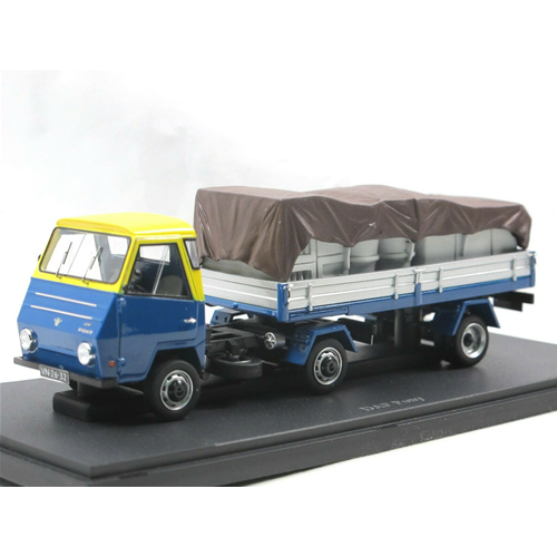 DAF PONY 1968 blugituttio 1 43 Autocult Camion Die Cast modellololino