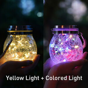 solar-hanging-lights-for-decorative-outdoor-garden-Yellow-light-Colored-light